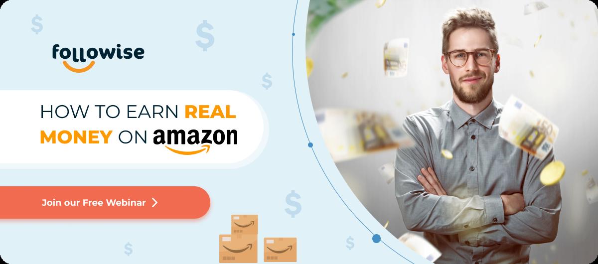 How to earn real money on amazon